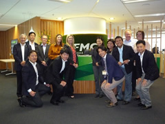 At FMG's Head Office