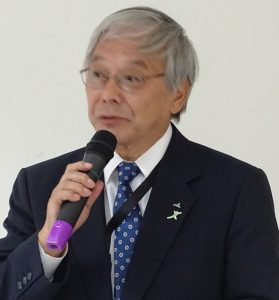 Tamotsu Shozui, AOA Chair and President of the Board of Directors, Zenkyoren