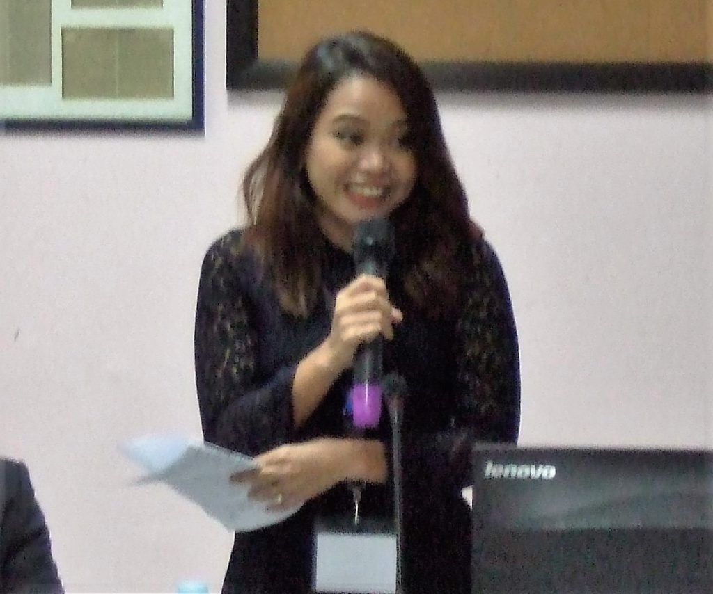Shayne Rose R. Bulos, Supervising Insurance Specialist, Microinsurance Division, Insurance Commission