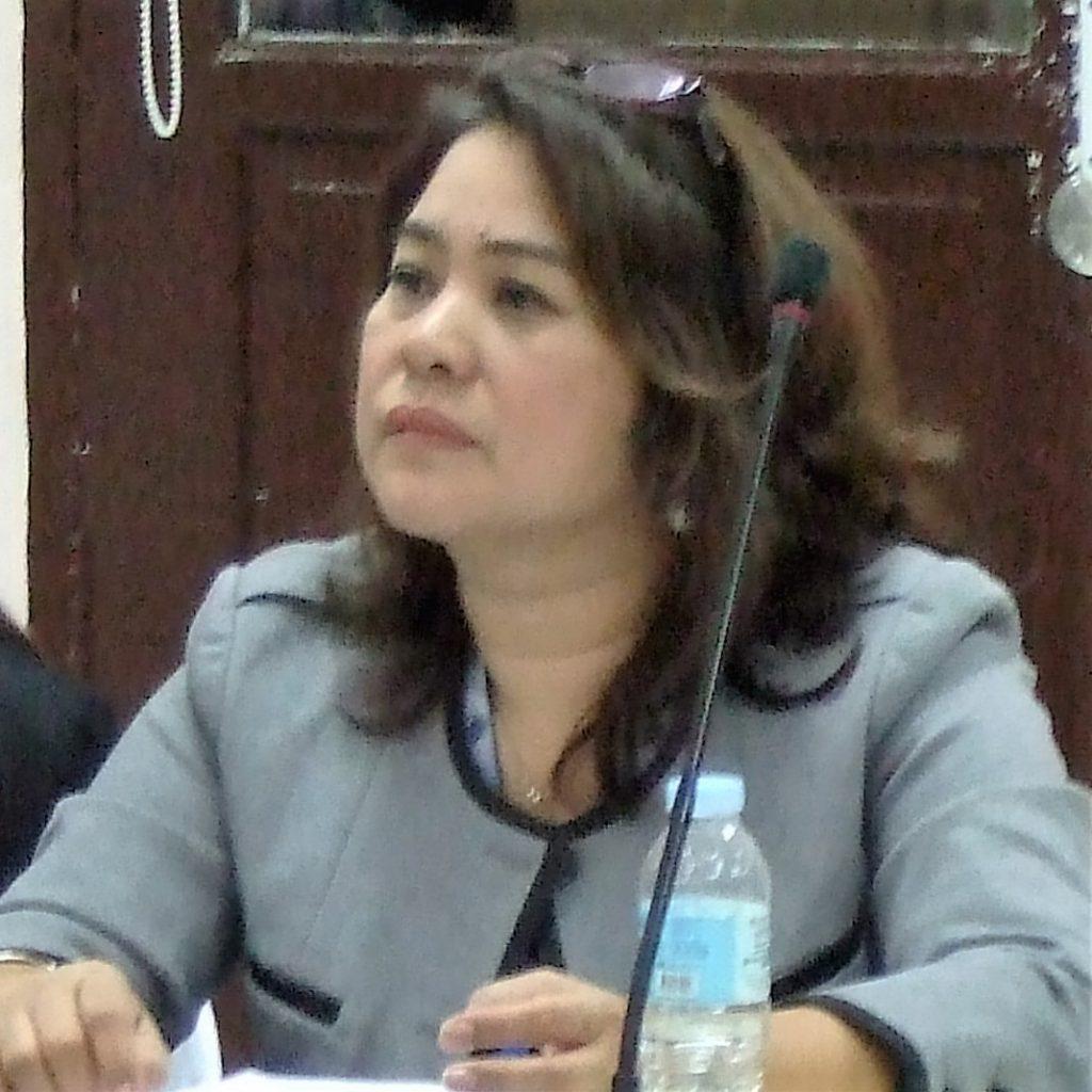 Emeteria F. Quijano, General Manager, ASKI MBA