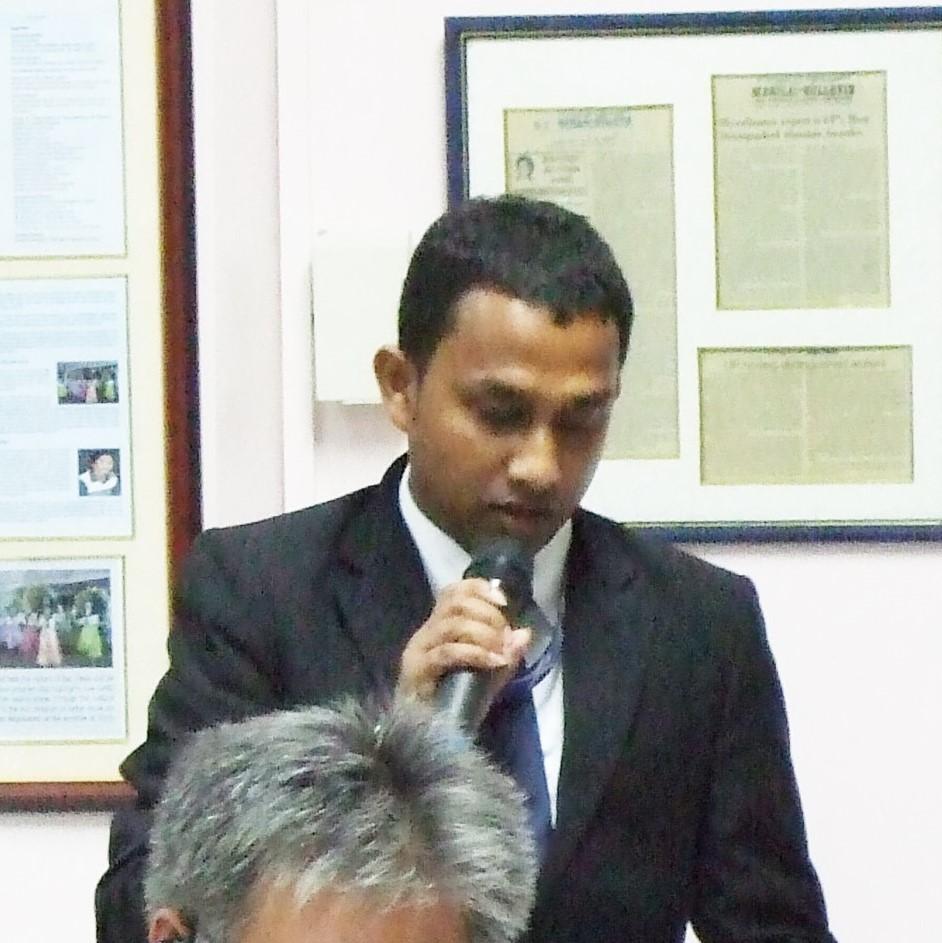 Dewamade Aluth Muhandiramlage Suranga Mahesh Muhandiram, Regional Manager, Sanasa Insurance Company Ltd.