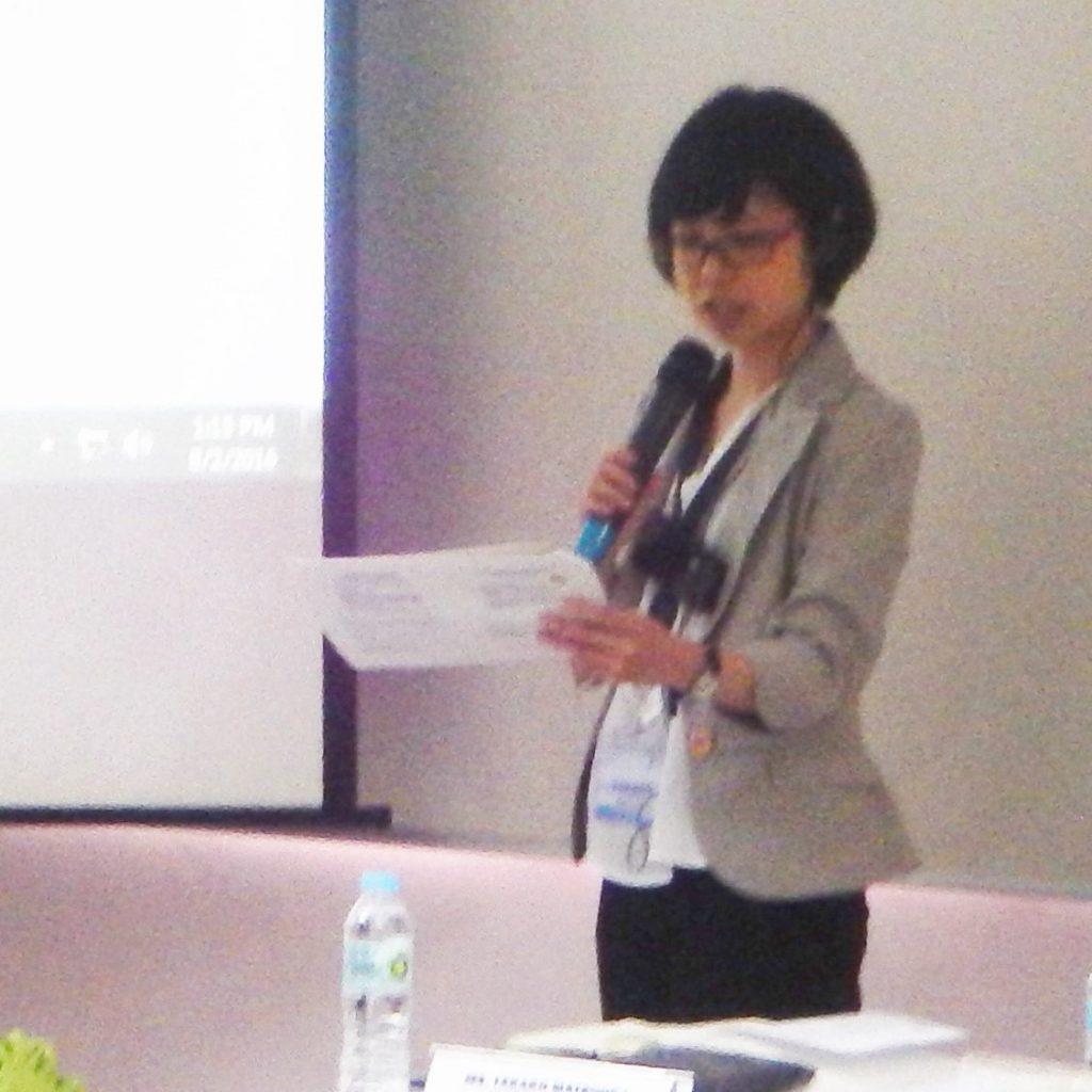 Takako Matsuoka, Payment Section, University Cooperatives Mutual Aid Federation (UCMAF)
