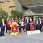 AOAが3か国の会員団体のため日本での視察研修をアレンジ