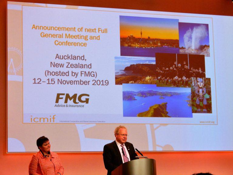 2019年のICMIF・AOA総会の開催地がニュージーランドに決定