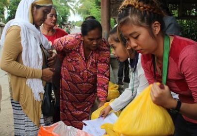 AOA関連News: フィリピンの CARD MBA、相次ぐ自然災害で被害を受けた50,000人超の会員メンバーを救援