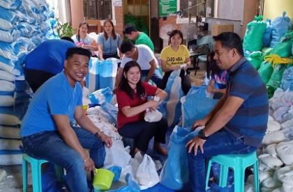 ICMIF members and other mutual institutions in the Philippines rally to help those affected by Taal volcano