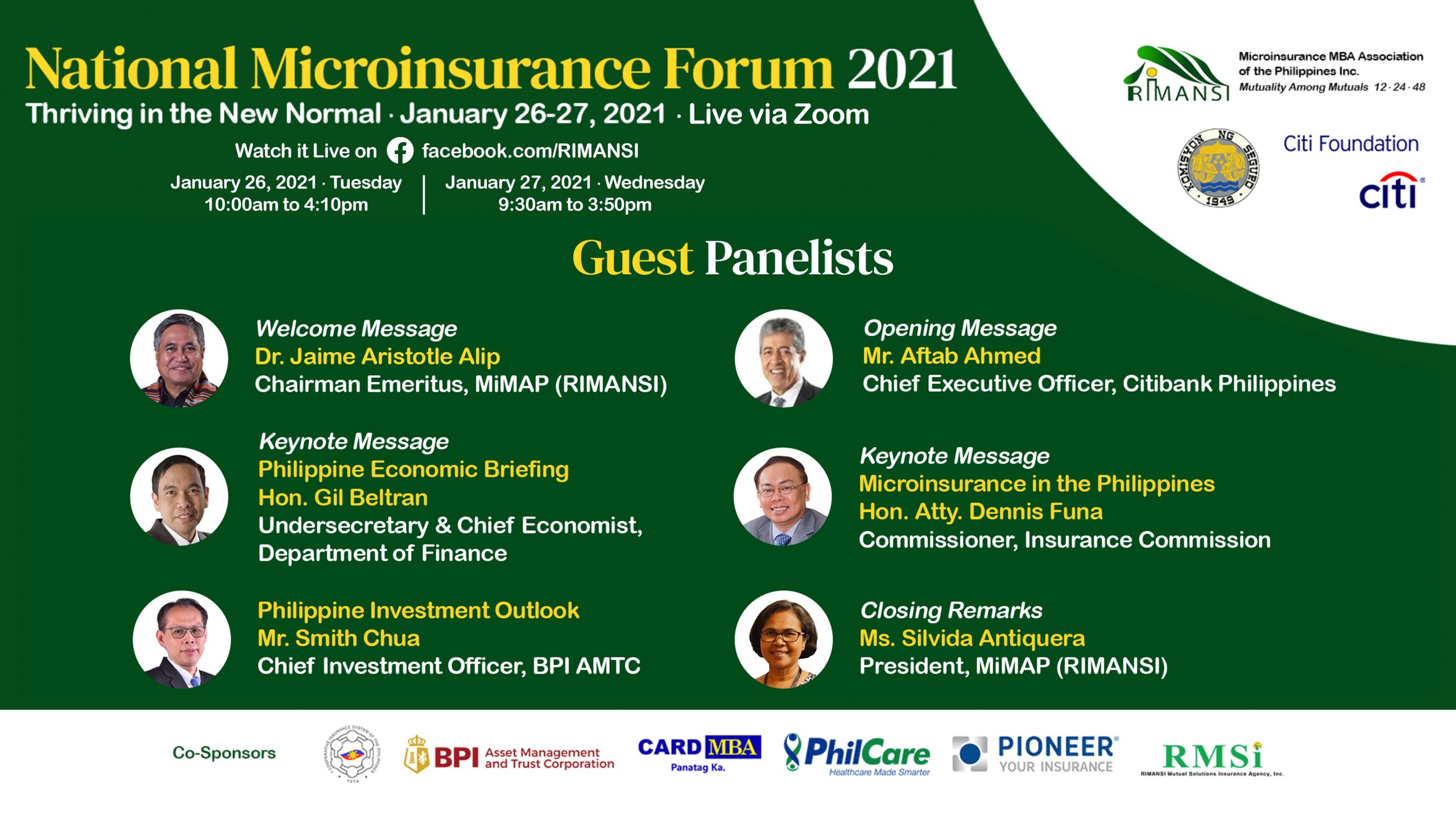Braving the New Normal with Greater Social Protection Through Microinsurance