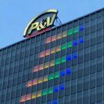 ブリュッセルのP&Vタワーは、より包摂的な社会を支援するため、虹色にライトアップされました